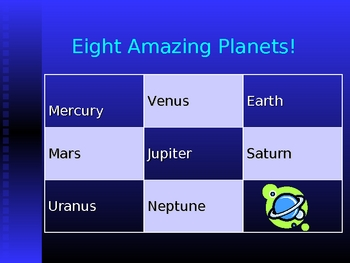 PowerPoint about the Solar System