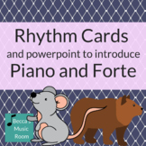 PowerPoint and Rhythm Cards to Introduce Piano and Forte