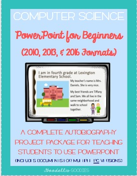 powerpoint for beginners ppt 2016 2013 and 2010 formats tpt