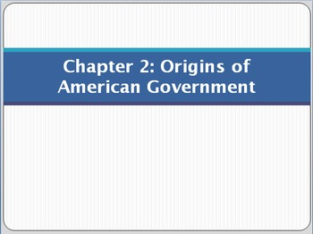 Origins of american government teaching resources teachers pay powerpoint for chapter 2 of magruders american government fandeluxe Images