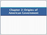 PowerPoint for Chapter 2 of Magruder's American Government
