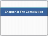 PowerPoint for Chapter 3 of Magruder's American Government: The Constitution