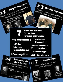 History U.S. - PowerPoint - 7 Issues of the Age of Reform / Progressive Era