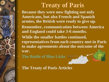 PowerPoint for History Alive Chapter 13 - Revolutionary War