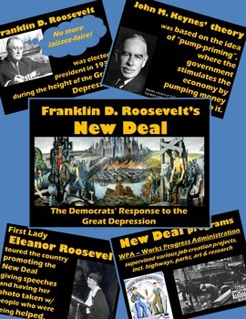 History U.S. or Government - PowerPoint - Lecture on FDR's New Deal