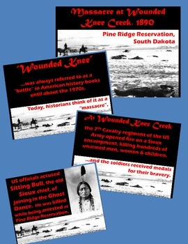 History U.S. - PowerPoint - What Happened at Wounded Knee Creek