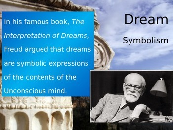 Psychology or English - PowerPoint - Dream Symbolism!