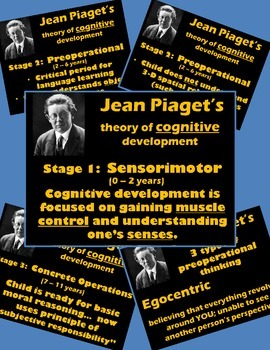 Psychology or Health - PowerPoint - Piaget's Theory of Cognitive Development
