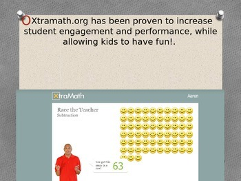 PowerPoint for Xtramath site