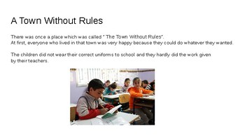 PowerPoint for teaching The importance of Rules