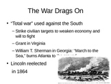 PowerPoint lecture: End of US Civil War and Reconstruction
