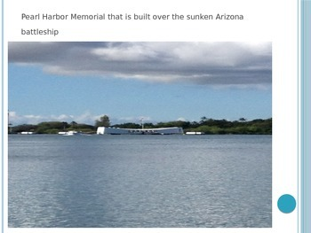 PowerPoint of Photos from the Pearl Harbor Museum in Hawaii