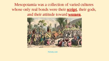PowerPoint on Ancient Mesopotamia