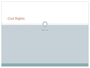 PowerPoint on Civil Rights