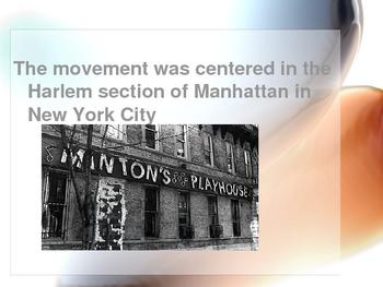PowerPoint on Harlem Renaissance