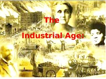 PowerPoint on Industrial Revolution with Robber Barons and Captains of industry