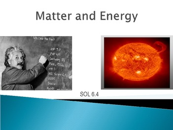 PowerPoint on Matter, Atoms, Mixtures, Compounds, and Physical/Chemical Changes