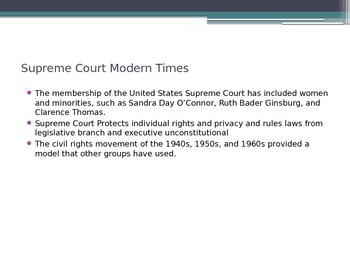 PowerPoint on Modern Times (US History)