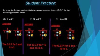 PowerPoint on Simplifying Fractions
