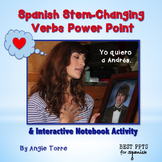 Spanish Stem-Changing Verbs PowerPoint & Interactive Notebook Activity