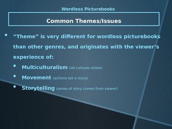 PowerPoint on Wordless Picturebooks