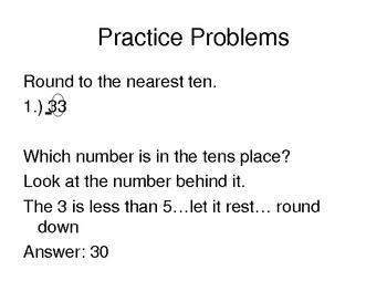 PowerPoint over Rounding
