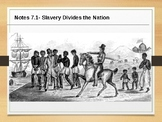 PowerPoint over Slavery Divides Nation (1850s)