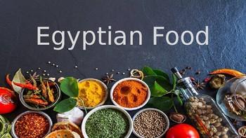 PowerPoint presentation Egyptian Food