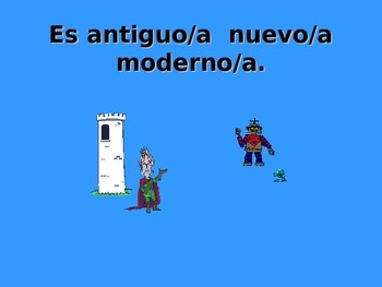 Spanish Teaching Resources. PowerPoint: Adjectives: describe house/ home/ flat.