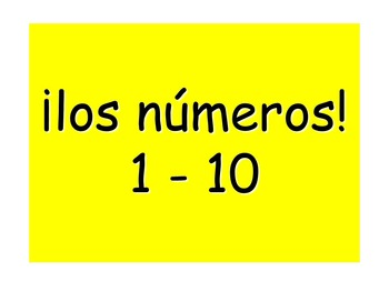 Spanish Teaching Resources. PowerPoint Presentations of the numbers from 1-20