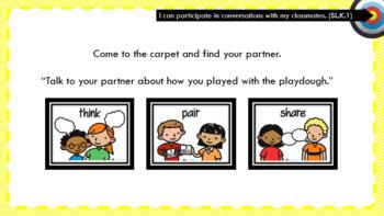 PowerPoint slides for EL Kindergarten Module 1 Unit 1