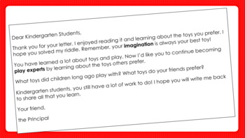 PowerPoint slides for EL Kindergarten Module 1 Unit 3