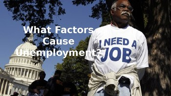 PowerPoint to Accompany Unemployment Inquiry Lesson