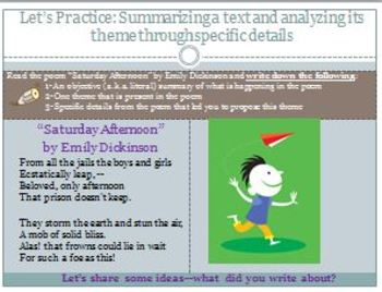 PowerPoint:Mini-Lessons for Common Core Standards for Reading Literature (9-10)