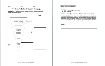 AP Language and Composition-Introduction to the Open Essay
