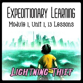 EngageNY 6th grade Lightning Thief Module 1 Unit 1 PowerPoints & Lesson Plans!