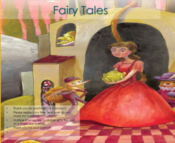 PowerPoints for Core Knowledge/Engage NY Grade 1 ELA Domain 9 Fairy Tales 1-PP