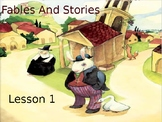 PowerPoints for Core Knowledge/Engage NY Grade 1 ELA Domain 1 Fables and Stories
