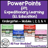 PowerPoints for Expeditionary Learning Kindergarten ALL MODULE BUNDLE