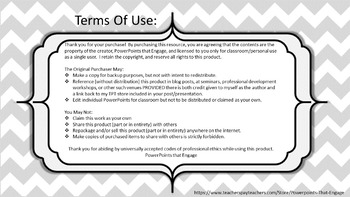 PowerPoints that Engage Terms of Use