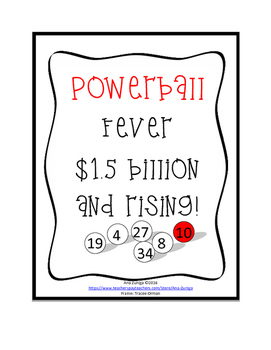 Powerball Fever! Combinations and Permutations using the Lottery