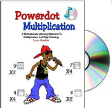 CD and Lyric Booklet for Powerdot Math (Workbook not included)