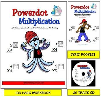 Combo Pack: Powerdot Multiplicaion: Workbook, CD and Lyric