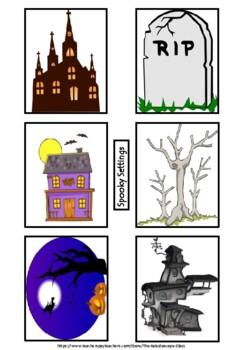 Powerful Paragraphs & Sensational Sentences!!! Spooky Theme