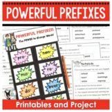 Prefixes Unit Worksheets Quiz Flap Book