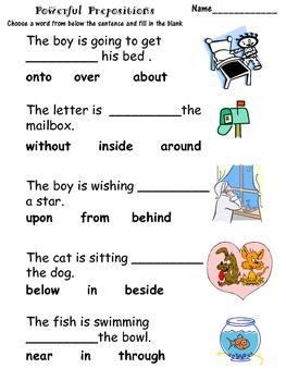 Powerful Prepositions
