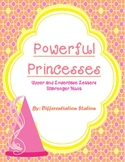 Powerful Princesses! Upper and Lowercase Letters Scavenger Hunt, Common Core