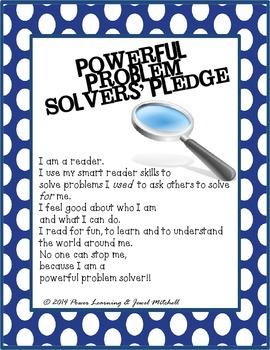 Powerful Problem-Solvers' Pledge