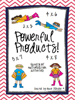 Powerful Products- Variety of Multiplication Activities
