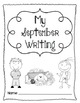 Writing Prompts-September {Task Cards and Journal Prompts for Writing Stations}